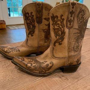Ariat Pegosa western cowboy boots
